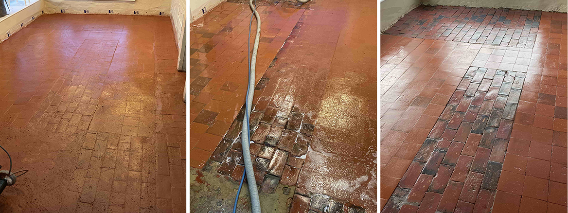 Old Tea Room Floor Renovated in Royal Tunbridge Wells